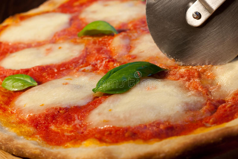 Pizza Margherita fotografia de stock royalty free