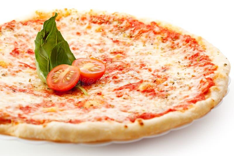Pizza Margherita royalty-vrije stock fotografie