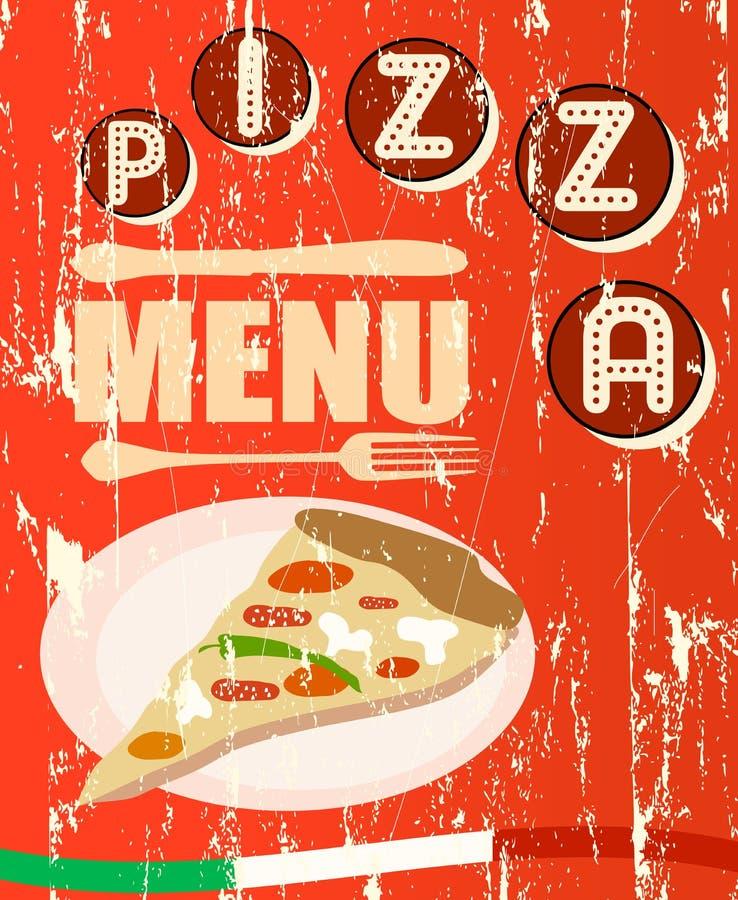 Pizza Menu Stock Photos