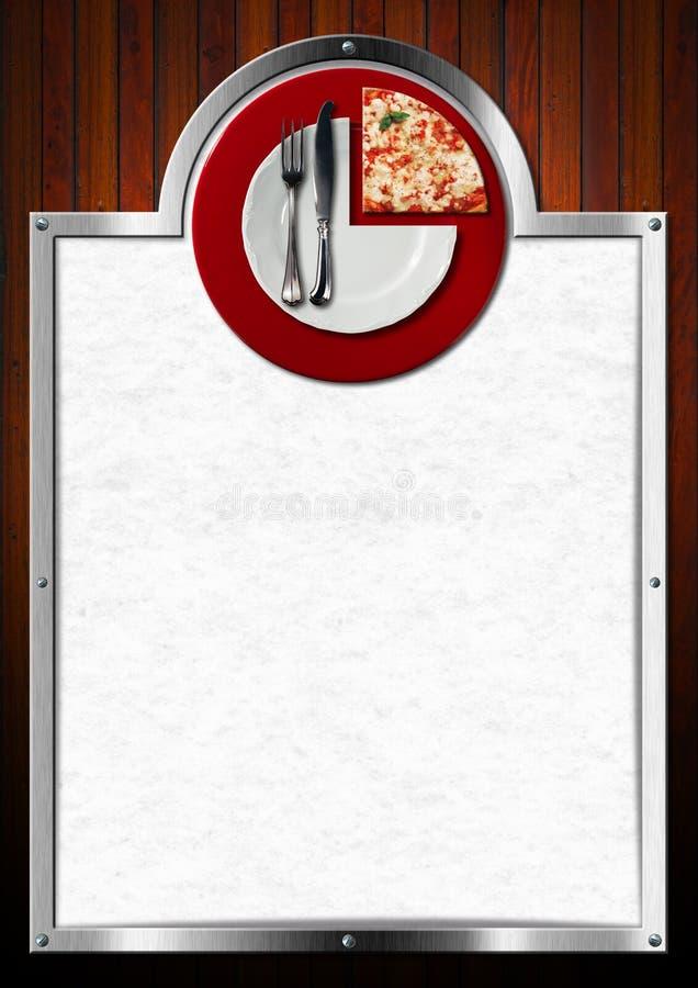 pizza menu design stock illustration  illustration of