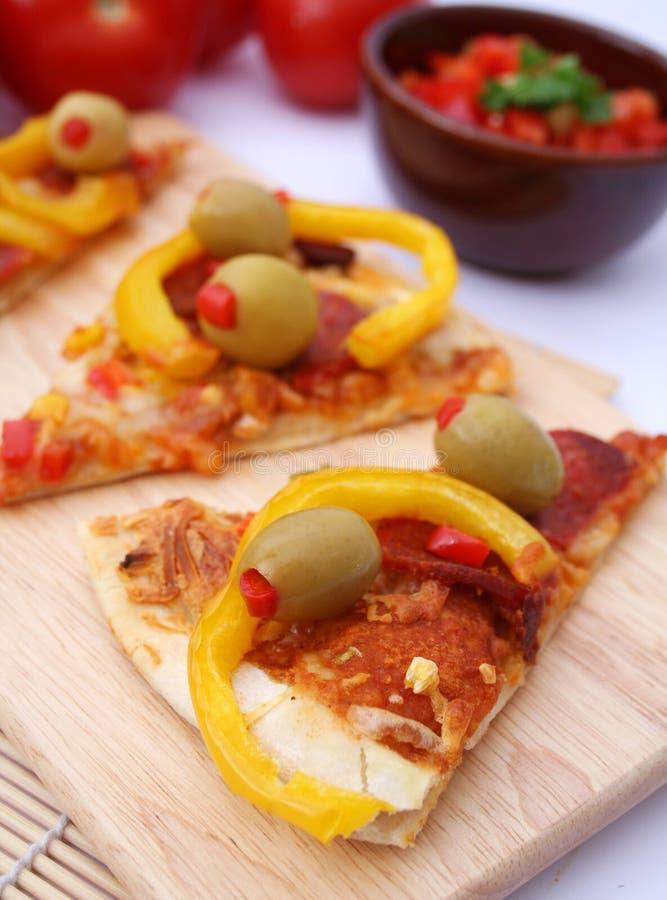 Pizza mexicaine photos stock