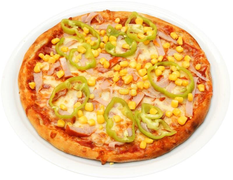 Pizza Mexicana fotografia stock libera da diritti