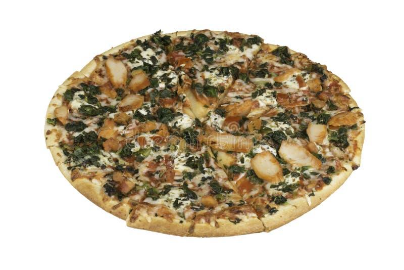 Pizza mince de croûte photographie stock