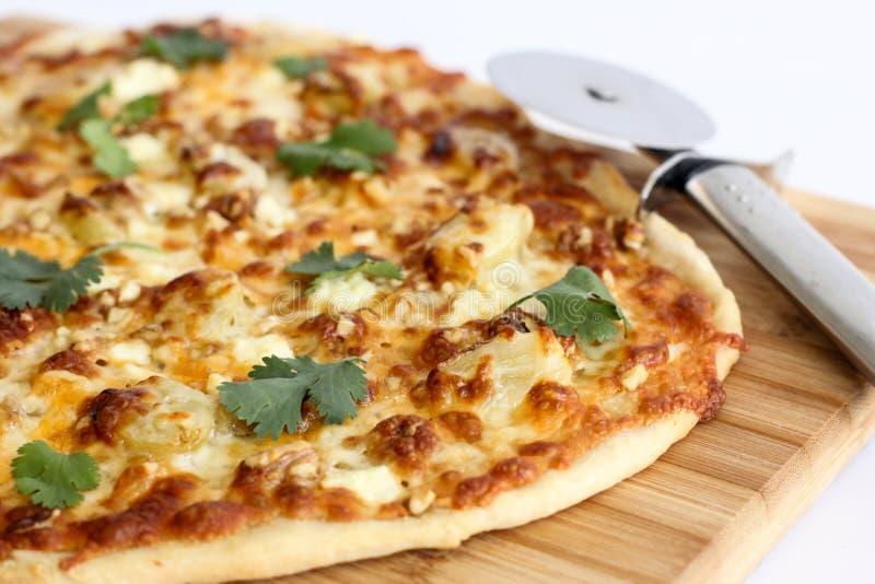 Pizza Mince Faite Maison De Croûte Image stock - Image du dîner, homemade: 51902355
