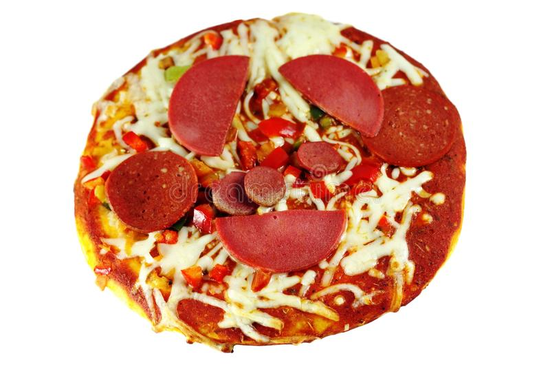 Pizza misturada fotos de stock