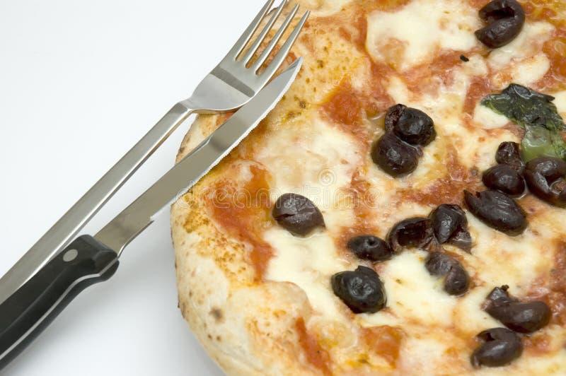 PIZZA NEAPOLITAN ORIGINAL imagem de stock