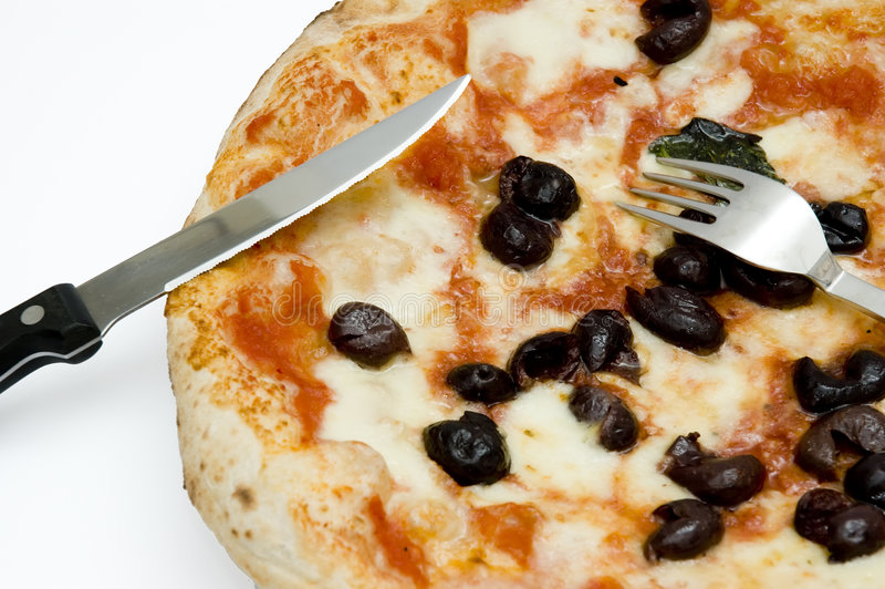 Pizza neapolitan original foto de stock royalty free
