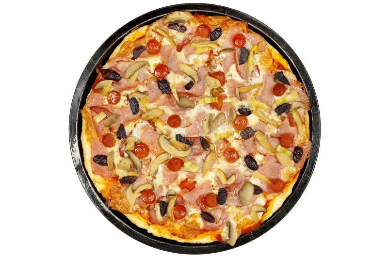 pizza odizolowana zdjęcie royalty free