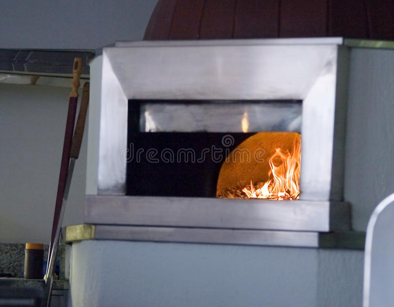Pizza oven stock photos