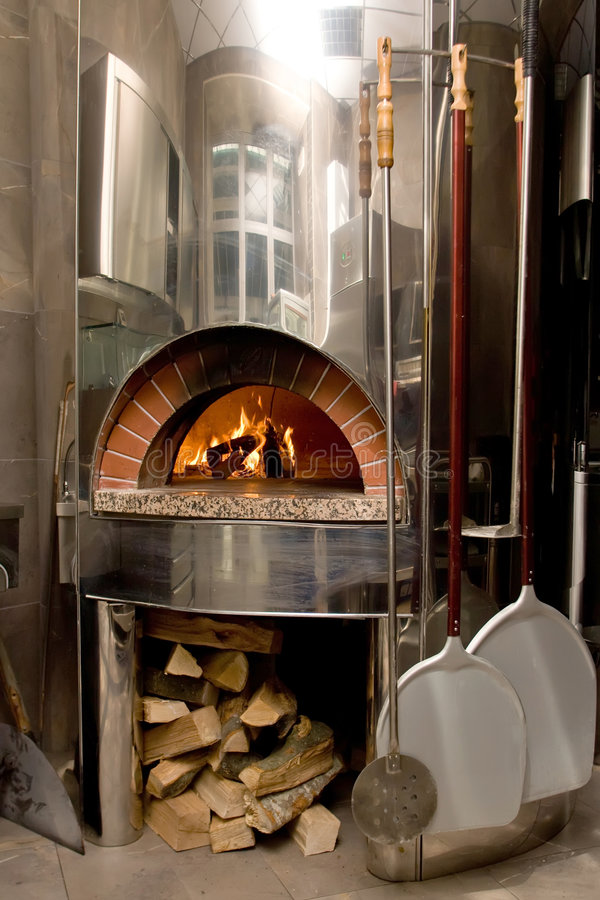 Download Pizza oven stock image. Image of metal, pizzeria, heat - 3589349