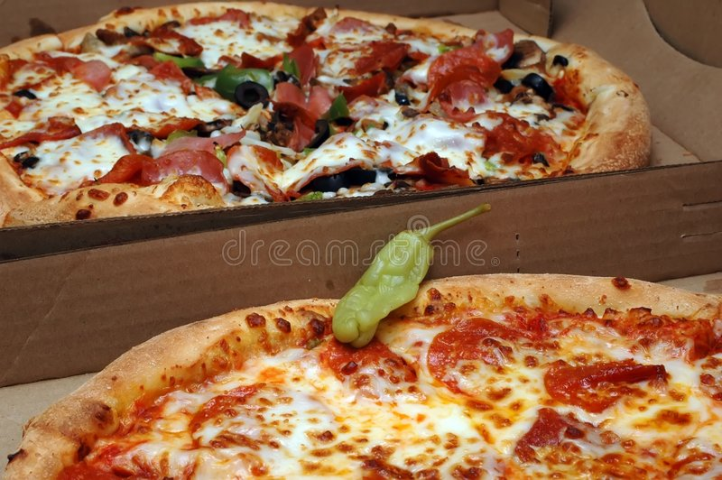 Pizza Party stock images