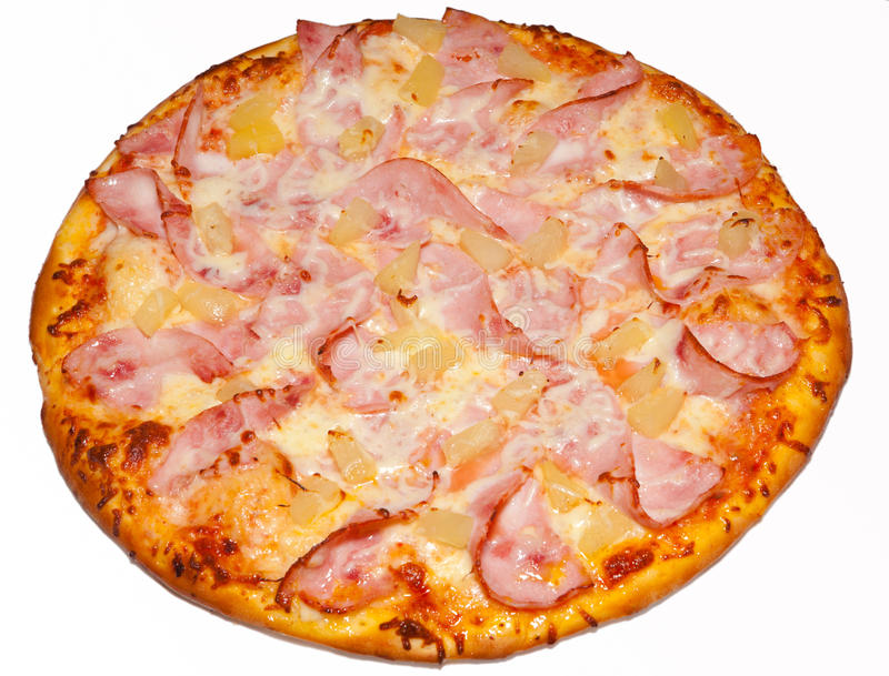 Pizza, pizzas, for the menu. Tasty and healthy food, Italian food, pepper, parma ham, tomato, ketchup, pineapple, mussels, olives, a large pizza, a visual menu stock images