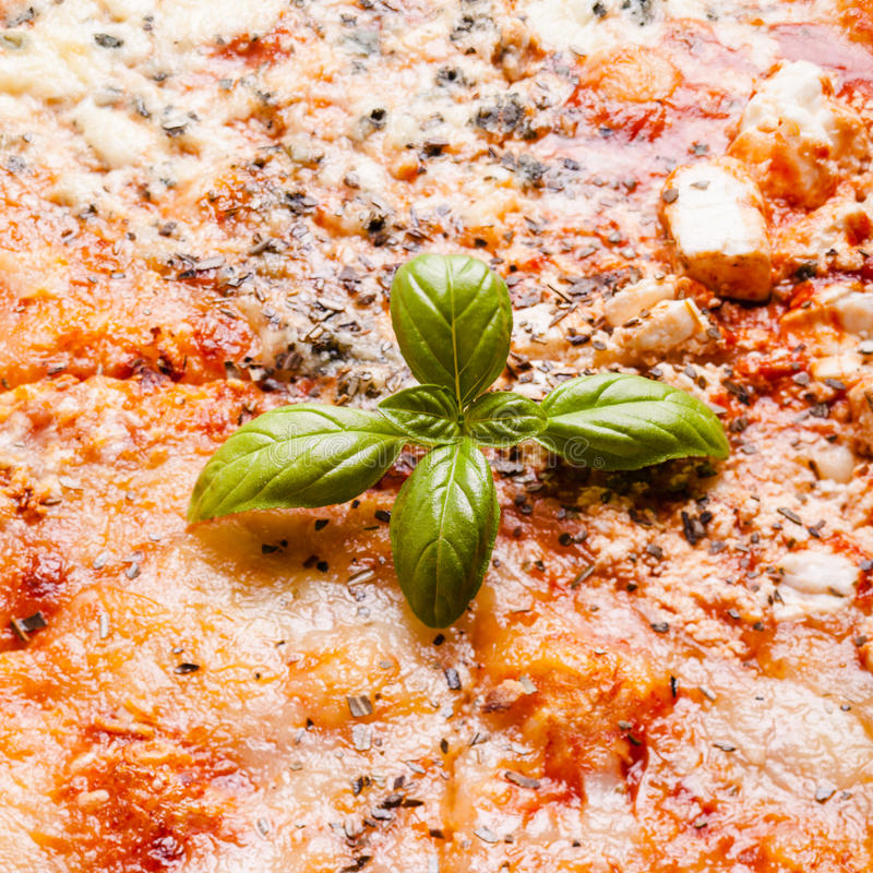 Pizza - quattro formaggi immagini stock libere da diritti