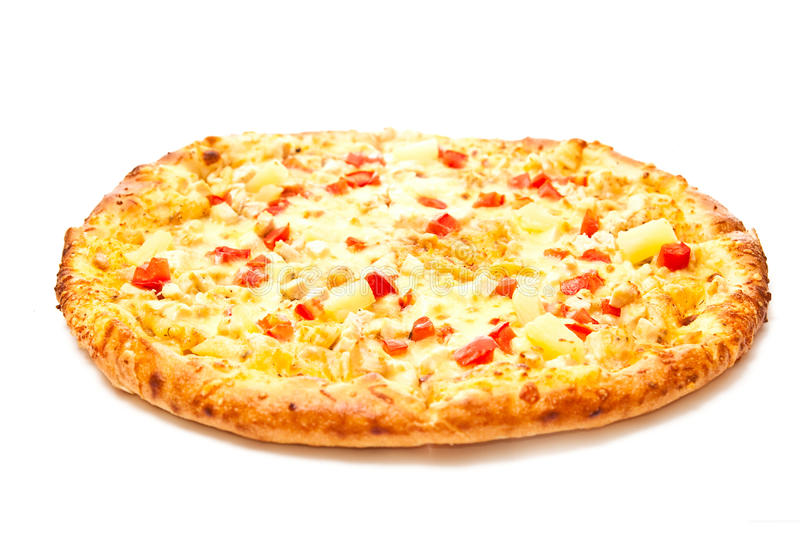 Pizza quente foto de stock royalty free