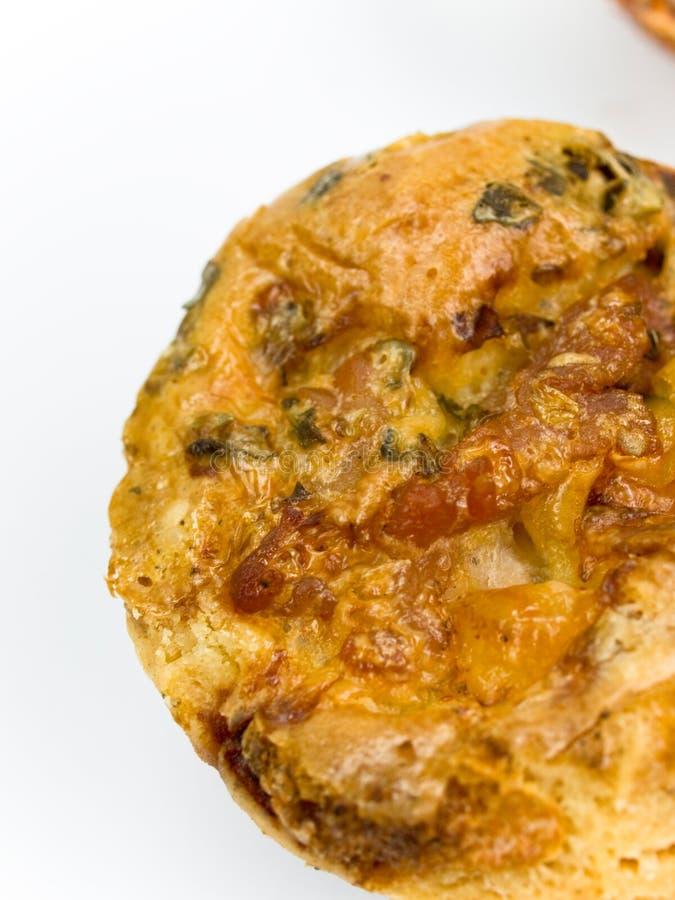 Pizza redonda pequena fotos de stock royalty free