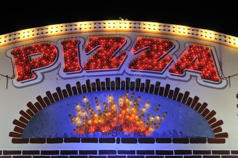 pizza restaurant στοκ εικόνα