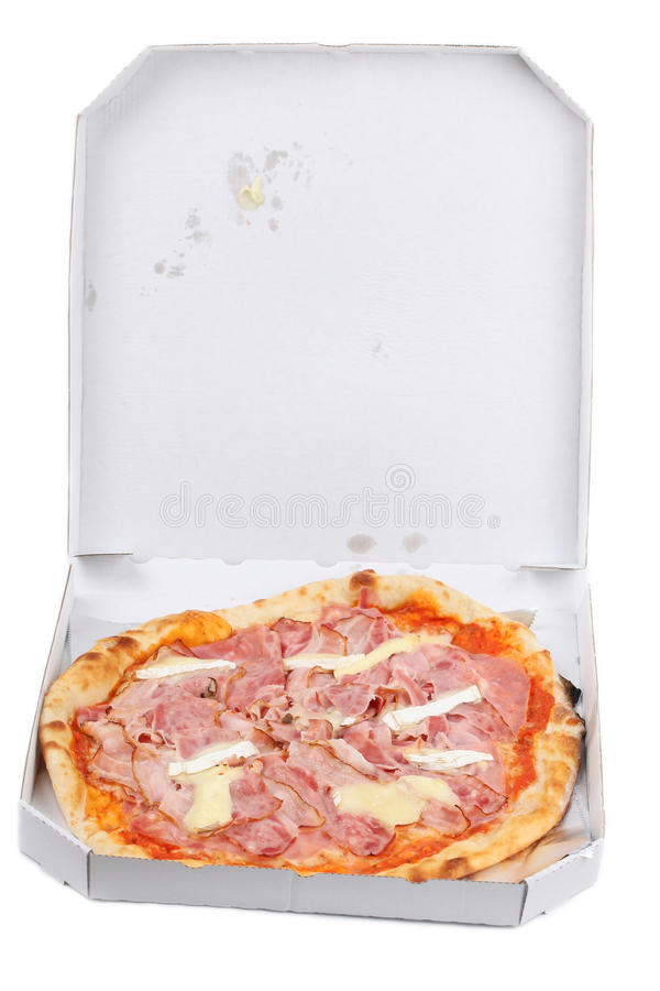 Pizza Romana In A Take Away Box Royalty Free Stock Images