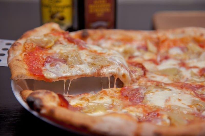 Pizza sabrosa imagen de archivo