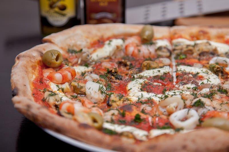 Pizza sabrosa foto de archivo
