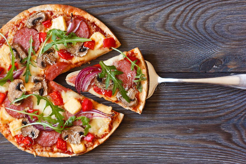 Pizza. royalty free stock photo
