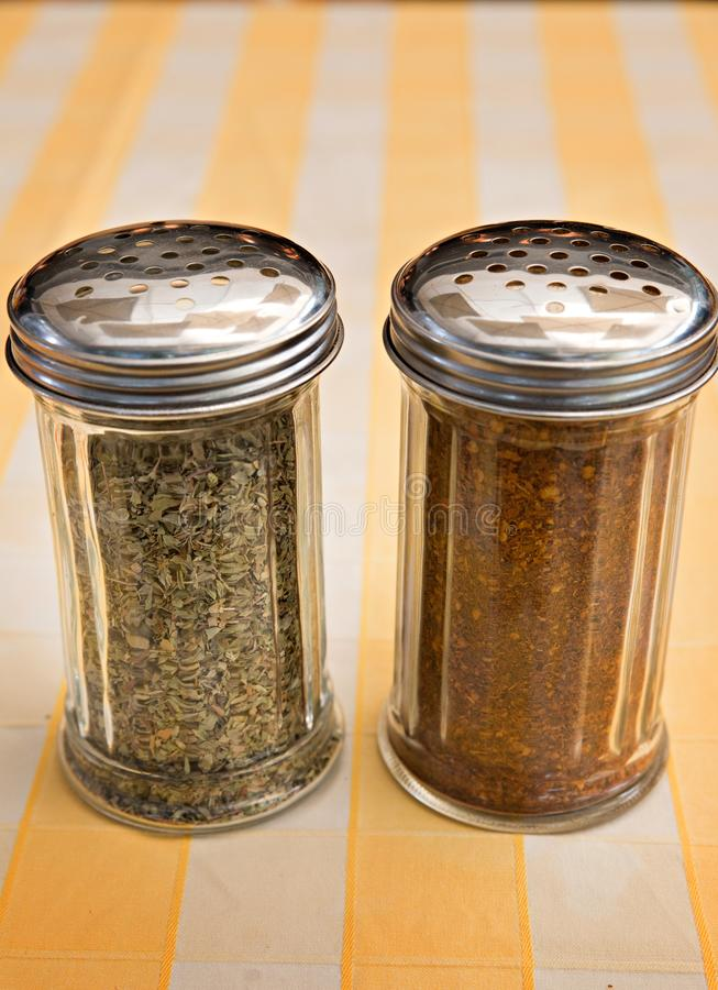 Pizza Seasoning royalty free stock photography