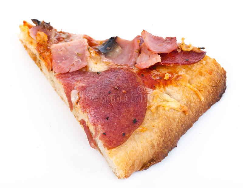 Download Pizza slice stock photo. Image of pepperoni, cheese, meat - 21092936