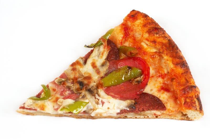 Pizza slice royalty free stock image