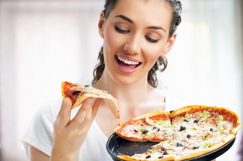 Pizza Squisita Fotografie Stock Libere da Diritti