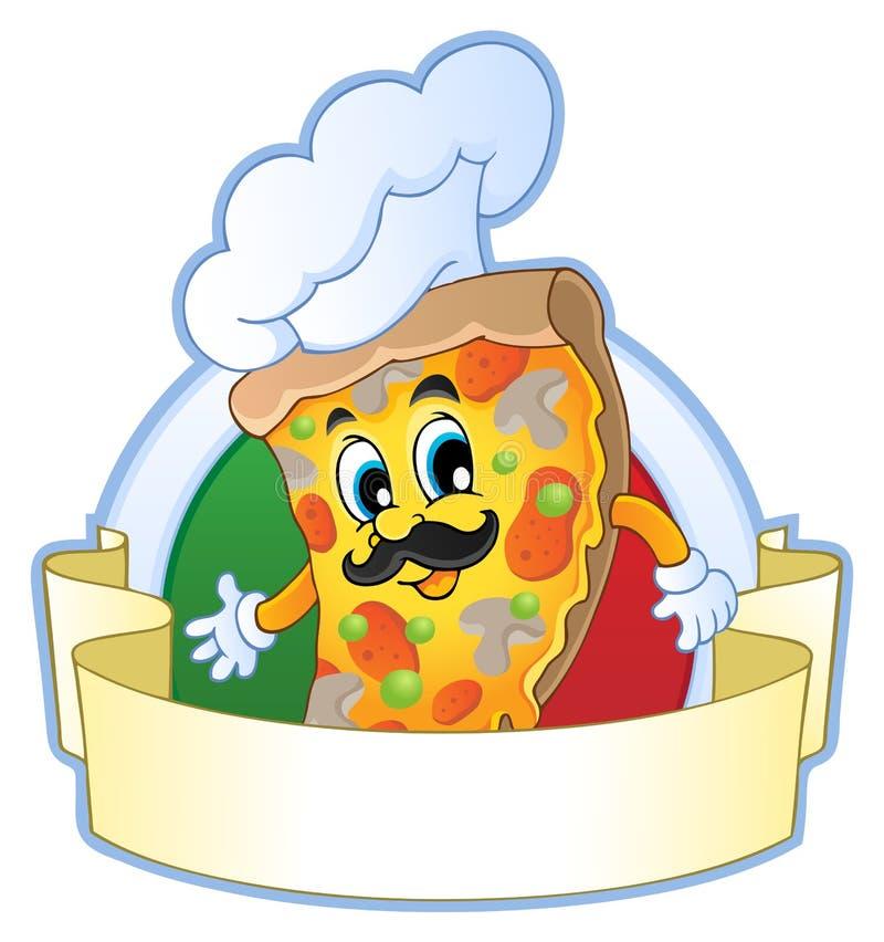Pizza Theme Image 1 Royalty Free Stock Photo