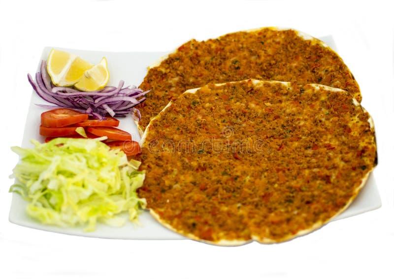 Pizza turca especial fotos de stock