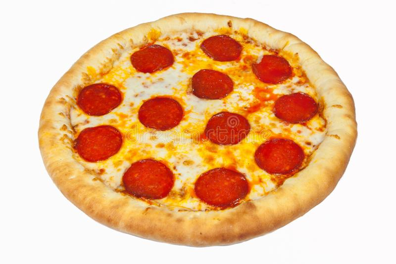 Pizza, various types of pizza stock image