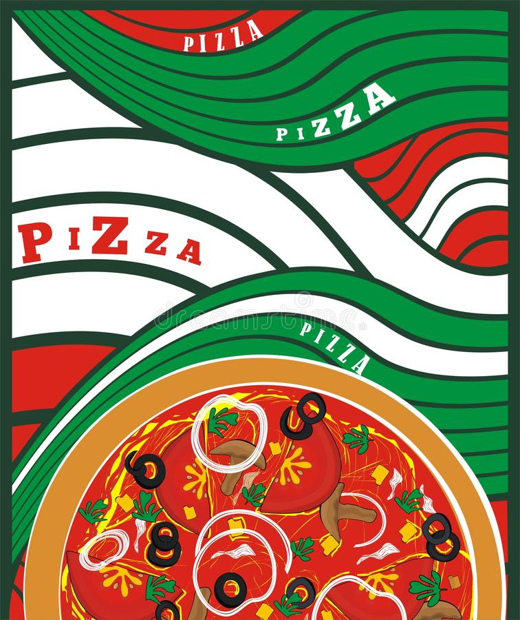Pizza -vector drawing