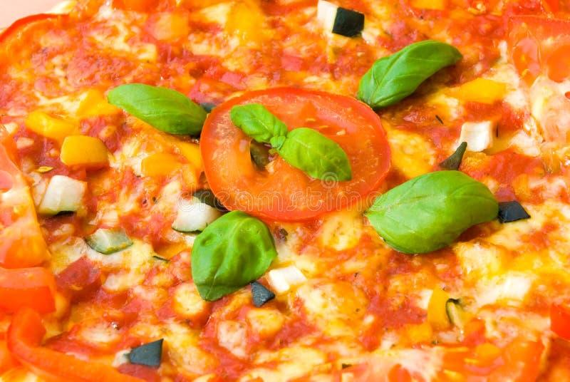 Pizza vegetable 2 stock photo