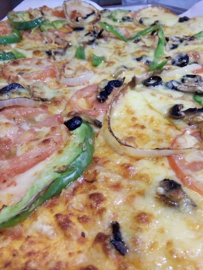 Pizza Veggies lizenzfreie stockfotografie