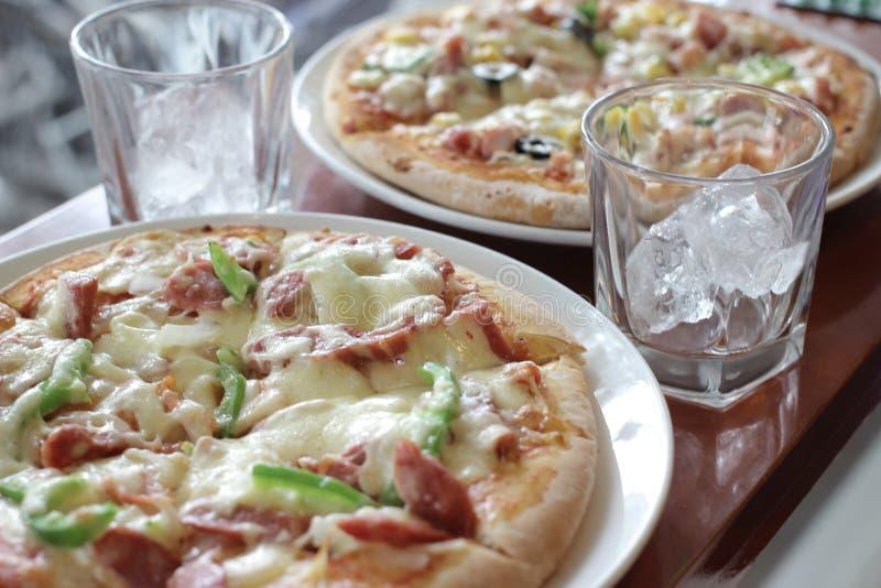 Pizza vietnamienne photographie stock