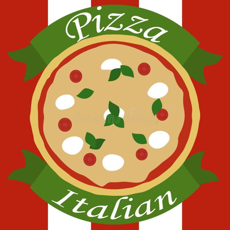 pizza włoskiej ilustracji