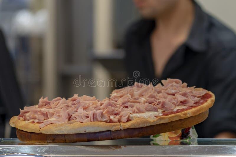 Pizza w Florence Tuscany Włochy zdjęcie stock