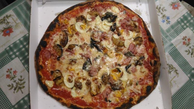 Pizzaaa•,🍕, arkivfoto