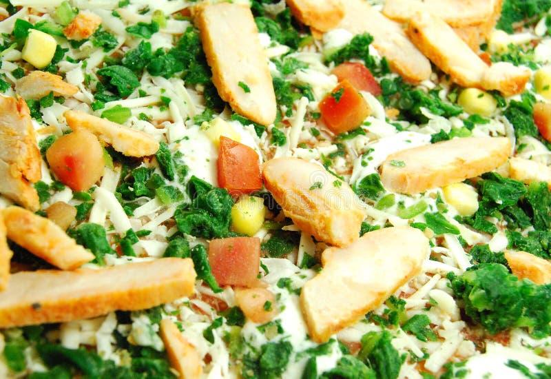 Pizzadetail stockfotos