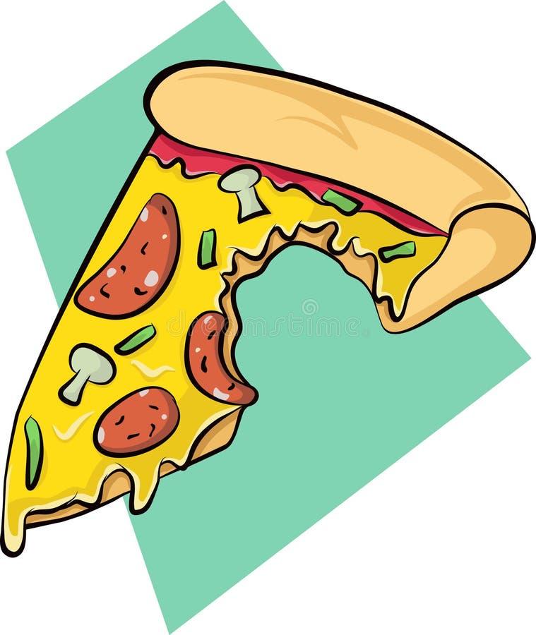 Download Pizzaembleem stock illustratie. Illustratie bestaande uit achtergrond - 54076634