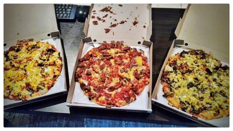 Pizzagyckel royaltyfri fotografi