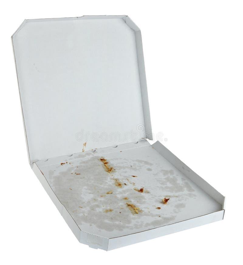 Pizzakasten stockbilder