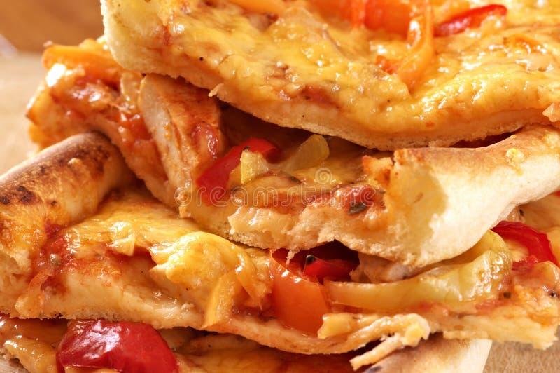 Pizzanahaufnahme stockbild
