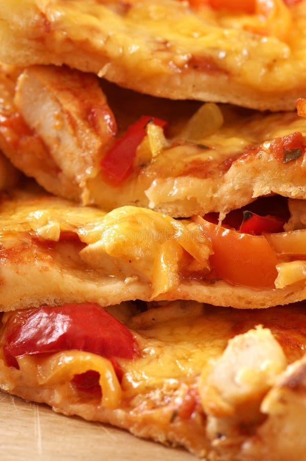 Pizzanahaufnahme lizenzfreie stockfotografie