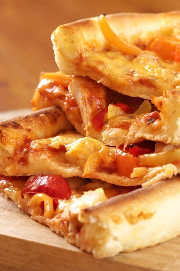 Pizzanahaufnahme lizenzfreie stockbilder