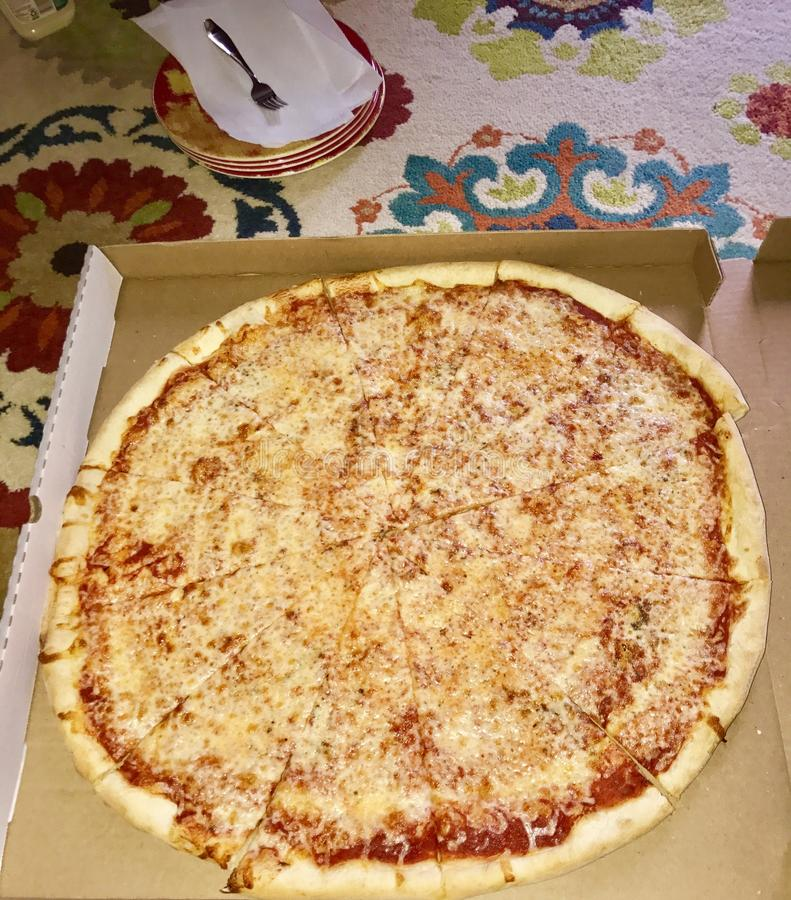 Pizzaparti royaltyfri fotografi