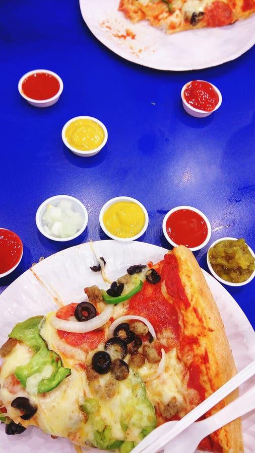 pizzapizza! stock afbeelding