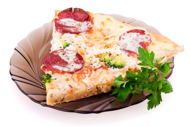 Download Pizzaskiva arkivfoto. Bild av smakligt, gourmet, bakade - 19794526