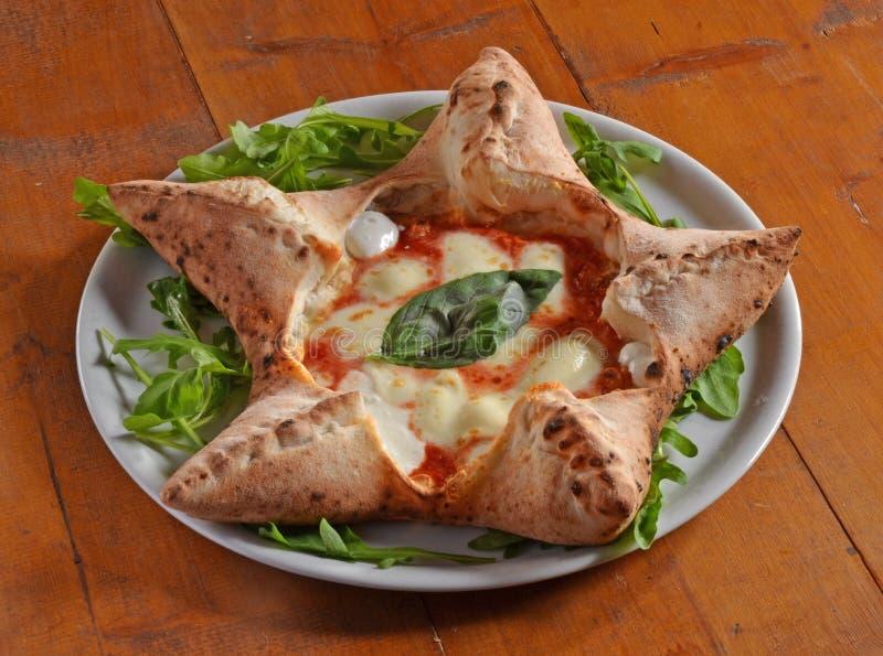 Pizzastern lizenzfreie stockfotos