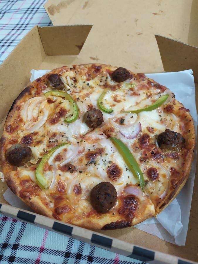 Pizzatid arkivbilder